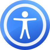 Apple Accessibility icon